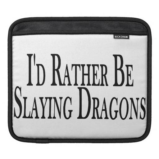 Esté matando bastante dragones funda para iPads