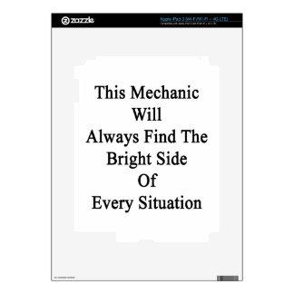 Este mecánico encontrará siempre a la parte pegatinas skins para iPad 3