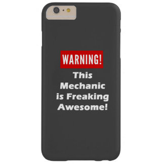 ¡Este mecánico es el Freaking impresionante! Funda Barely There iPhone 6 Plus