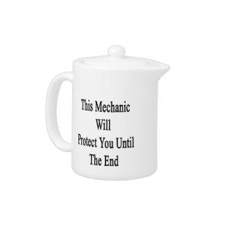 Este mecánico le protegerá hasta el extremo