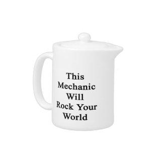 Este mecánico oscilará su mundo