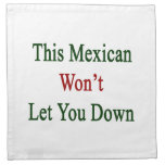 Este mexicano no le dejará abajo servilleta imprimida