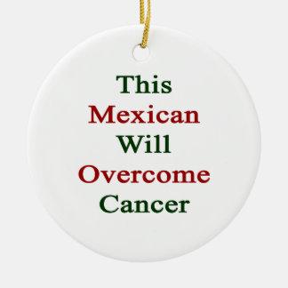 Este mexicano superará al cáncer adorno