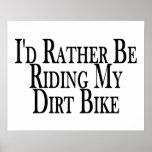 Esté montando bastante mi bici de la suciedad impresiones