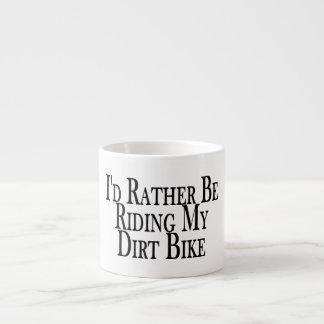Esté montando bastante mi bici de la suciedad tazas espresso