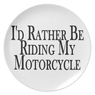 Esté montando bastante mi motocicleta platos para fiestas