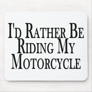 Esté montando bastante mi motocicleta tapete de ratones