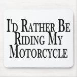 Esté montando bastante mi motocicleta alfombrillas de ratón