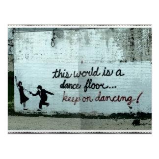 Este mundo es Dance Floor Postales