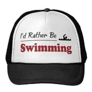 Esté nadando bastante gorros bordados
