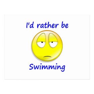 Esté nadando bastante postales