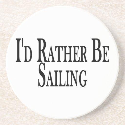 Esté navegando bastante posavasos de arenisca
