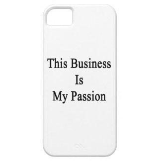 Este negocio es mi pasión iPhone 5 carcasa