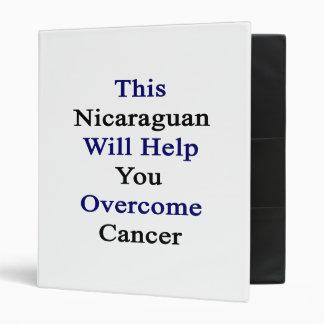 Este Nicaraguan le ayudará a superar al cáncer