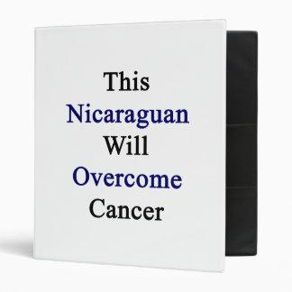 Este Nicaraguan superará al cáncer