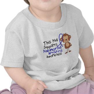 Este niño apoya conciencia de la artritis reumatoi camiseta