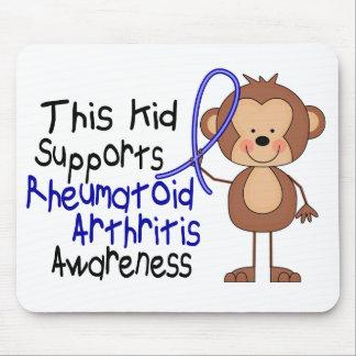 Este niño apoya conciencia de la artritis reumatoi alfombrilla de ratones