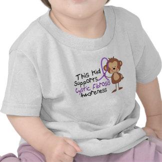 Este niño apoya conciencia de la fibrosis quística camisetas