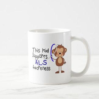 Este niño apoya conciencia del ALS Taza De Café