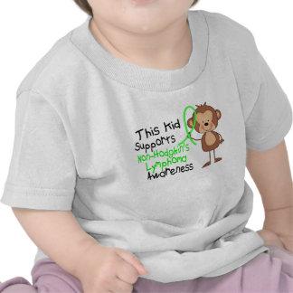 Este niño apoya conciencia del linfoma de Non-Hodg Camisetas