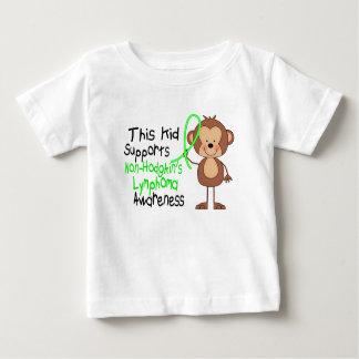 Este niño apoya conciencia del linfoma de t-shirts