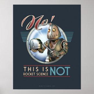 Éste no es el poster de la ingeniería espacial