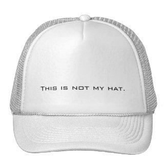 Éste no es mi gorra