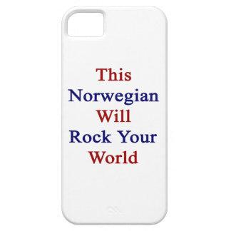 Este noruego oscilará su mundo iPhone 5 cobertura