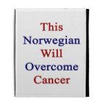 Este noruego superará al cáncer