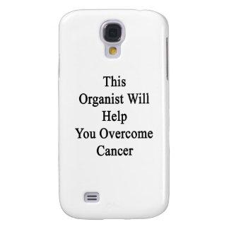Este organista le ayudará a superar al cáncer