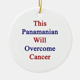 Este Panamanian superará al cáncer Ornatos
