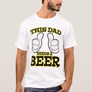 Este papá necesita una camisa de la cerveza