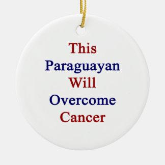 Este Paraguayan superará al cáncer Ornaments Para Arbol De Navidad
