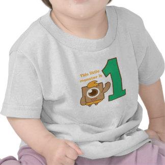 Este pequeño un monstruo del ojo es uno, primer cu camisetas