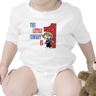 Este pequeño VAQUERO es 1 camiseta del CUMPLEAÑOS