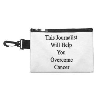 Este periodista le ayudará a superar al cáncer