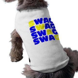 Este perro tiene SWAG. Camisa De Mascota