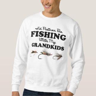 Esté pescando bastante a Grandkids Sudaderas