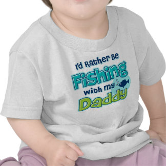 Esté pescando bastante al papá camisetas