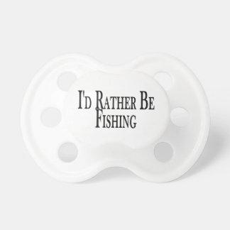 Esté pescando bastante chupete de bebe