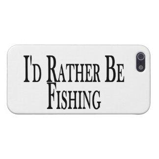 Esté pescando bastante iPhone 5 carcasa