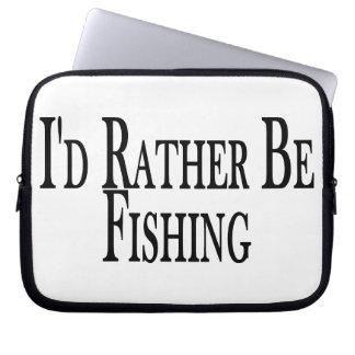 Esté pescando bastante mangas portátiles