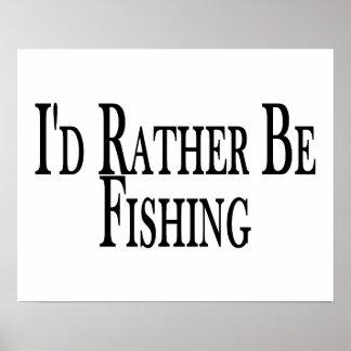 Esté pescando bastante póster