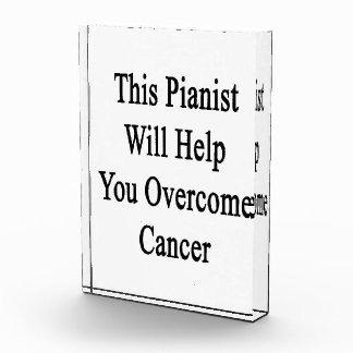 Este pianista le ayudará a superar al cáncer