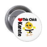 Este polluelo ama karate pin