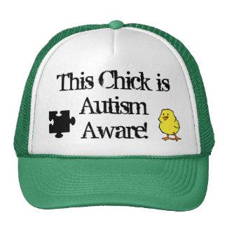 Este polluelo es gorra enterado del autismo