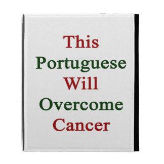 Este portugués superará al cáncer