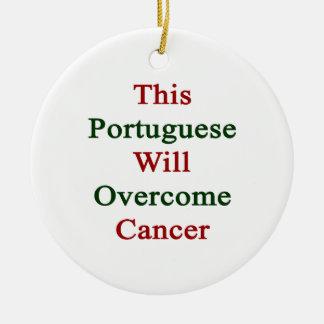 Este portugués superará al cáncer ornamentos para reyes magos