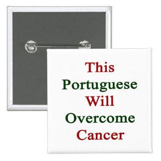 Este portugués superará al cáncer pin
