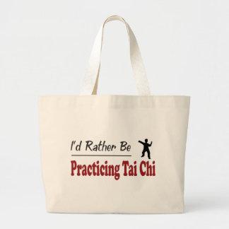 Esté practicando bastante ji del Tai Bolsa De Tela Grande